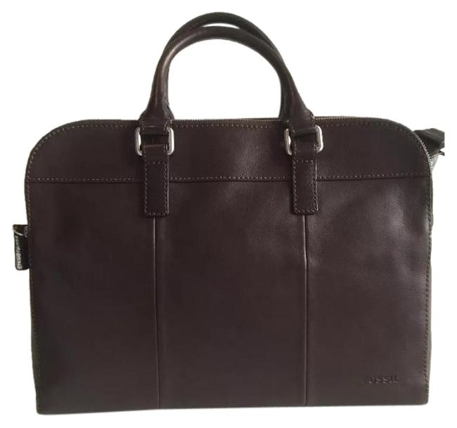 Item - Mercer New Briefcase Work Brown Leather Laptop Bag
