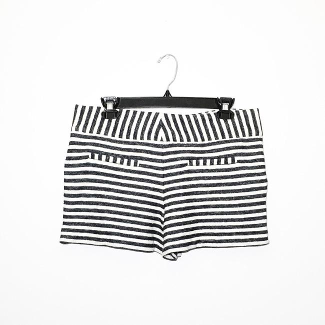 Alice + Olivia Mini/Short Shorts Navy, Cream Image 4