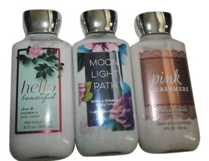 Bath and Body Works 3 bath & Body Works Lotions HELLO BEAUTIFUL L 8FL OZ