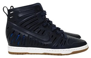 Nike Navy, Midnight Blue, White, Brown Athletic