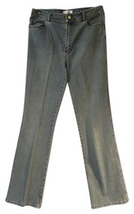 Dana Buchman Stretch Boot Cut Jeans-Light Wash