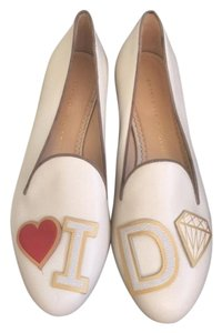 Charlotte Olympia Off white Flats