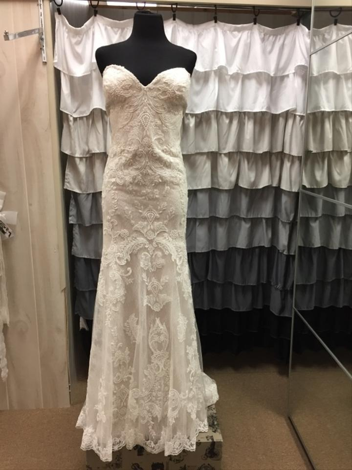 Maggie Sottero Ivory/Champagne Mirelle Wedding Dress Size 22 (Plus ...