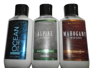 Bath and Body Works 3FOR MEN bath & Body Works Lotions OCEAN ALPINE8FL OZ