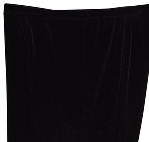 Lord & Taylor Straight Pants Black