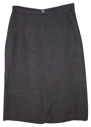 4ad6a29cd3 Eileen Fisher Chambray Linen Skirt 50%OFF - staging.melanomanetwork.ca