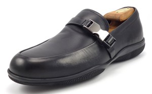 Prada Men's Leather Sport Strap Loafers