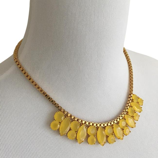 Kate Spade Gold/Yellow W New York Marquee W/Bag Necklace Kate Spade Gold/Yellow W New York Marquee W/Bag Necklace Image 1