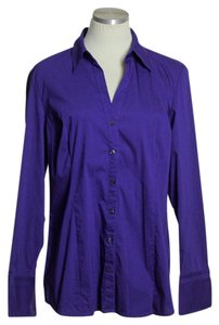 Express Button Down Shirt Purple
