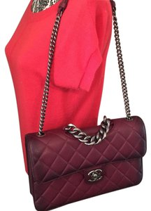 Chanel Double Flap Flap Cavier Red Shoulder Bag