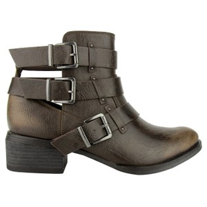 Not Rated Ankle Buckles Brydie taupe Boots