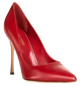 Sergio Rossi Stiletto Red Pumps