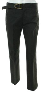 Gucci Trouser Buckle Capri/Cropped Pants Black