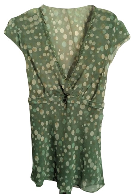 NY & Co (M) New York And Company Silk Silk Tops Size 8 Top