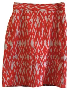 Banana Republic Skirt Orange/beige