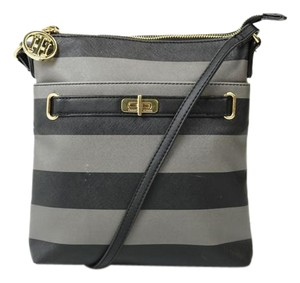 Tommy Hilfiger Striped Adjustable Strap Cross Body Bag