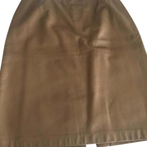 Ellen Tracy Skirt Gold matt