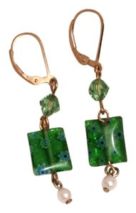 Other 14 K GF Emerald Isle Millifiore Glass