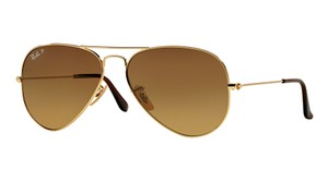 Ray-Ban RB 3025 001/M2 (color) GOLD POLARIZED AVIATOR - Free 3 Day Shipping