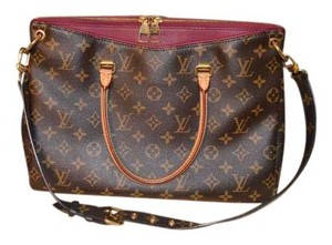 Louis Vuitton Lv Purple Pink Logo Purse Shoulder Bag