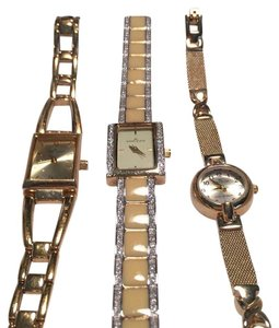 Anne Klein All 3 Anne Klein Goldtone Watches