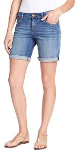 KUT from the Kloth Boyfriend Shorts Denim Shorts-Medium Wash