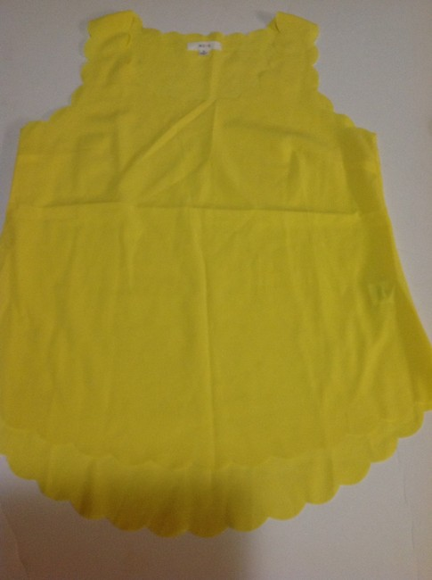 Preload https://img-static.tradesy.com/item/2007862/only-mine-yellow-sleeveless-style-light-small-tank-topcami-size-4-s-0-0-650-650.jpg