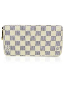 Louis Vuitton Louis Vuitton Damier Azur Zippy Wallet with Box and Dust Bag