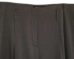 Jones New York Straight Pants Black/Gray stripe