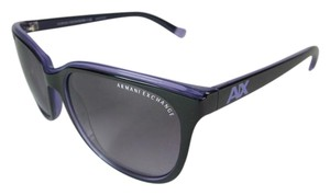 A|X Armani Exchange Glam - Black with Violet Trim, Sunglasses