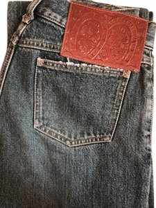 Dolce&Gabbana Distressed Denim Boot Cut Jeans-Medium Wash