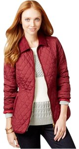 Tommy Hilfiger Fall Casual Red Jacket
