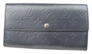 Louis Vuitton Gris Art Deco Sarah Wallet