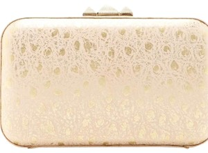 Rebecca Minkoff Light Gold Clutch
