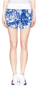 Helmut Lang Mini/Short Shorts Blue, White