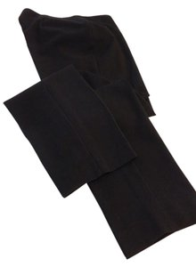 Talbots Straight Pants Black
