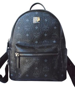 MCM Leather Stark Backpack