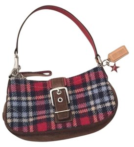 Coach Plaid Clutch