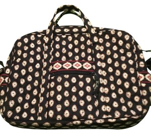 Vera Bradley Tote in Black Multi