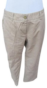 Lands' End Khaki/Chino Pants Tan Beige