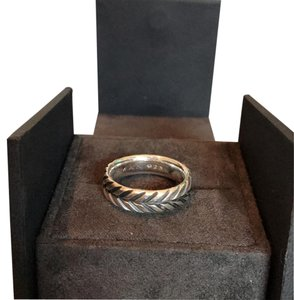 David Yurman Chevron Band Ring / STYLE NUMBER: R15184MSS