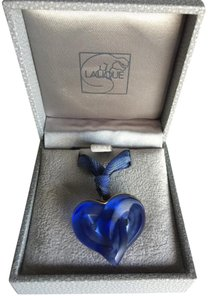 Lalique Lalique crystal entwined hearts