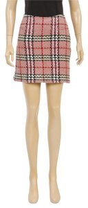 Burberry Mini Skirt Multicolor