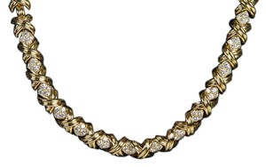 Tiffany & Co. Tiffany & Co. 18k Yellow Gold and Diamond Necklace