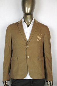 Gucci Brown New Men's Corduroy College Jacket Eu 50/ Us 40 337797 2602 Groomsman Gift