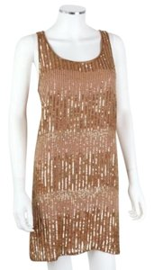 Haute Hippie Holiday Sequins Nude Dress