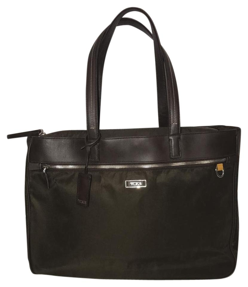 fd7ad54902ab Tumi Laptop Travel Business Tote in Brown Image 0 ...