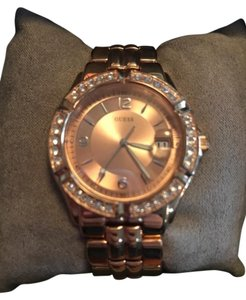 Guess Guess Watch Stoned Bubble Rose Gold