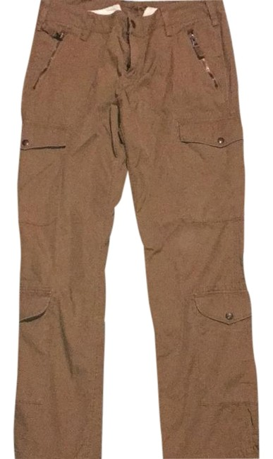Item - Brown Cargo Jeans Size 34 (12, L)