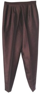 Harvé Benard New Dress Sz 12 Trouser Pants Brown